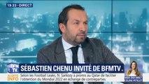 """Sébastien Chenu estime qu'Emmanuel Macron """"joue sur les peurs des Français"""""""