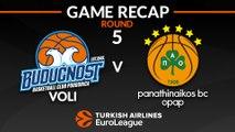 Highlights: Buducnost VOLI Podgorica - Panathinaikos OPAP Athens