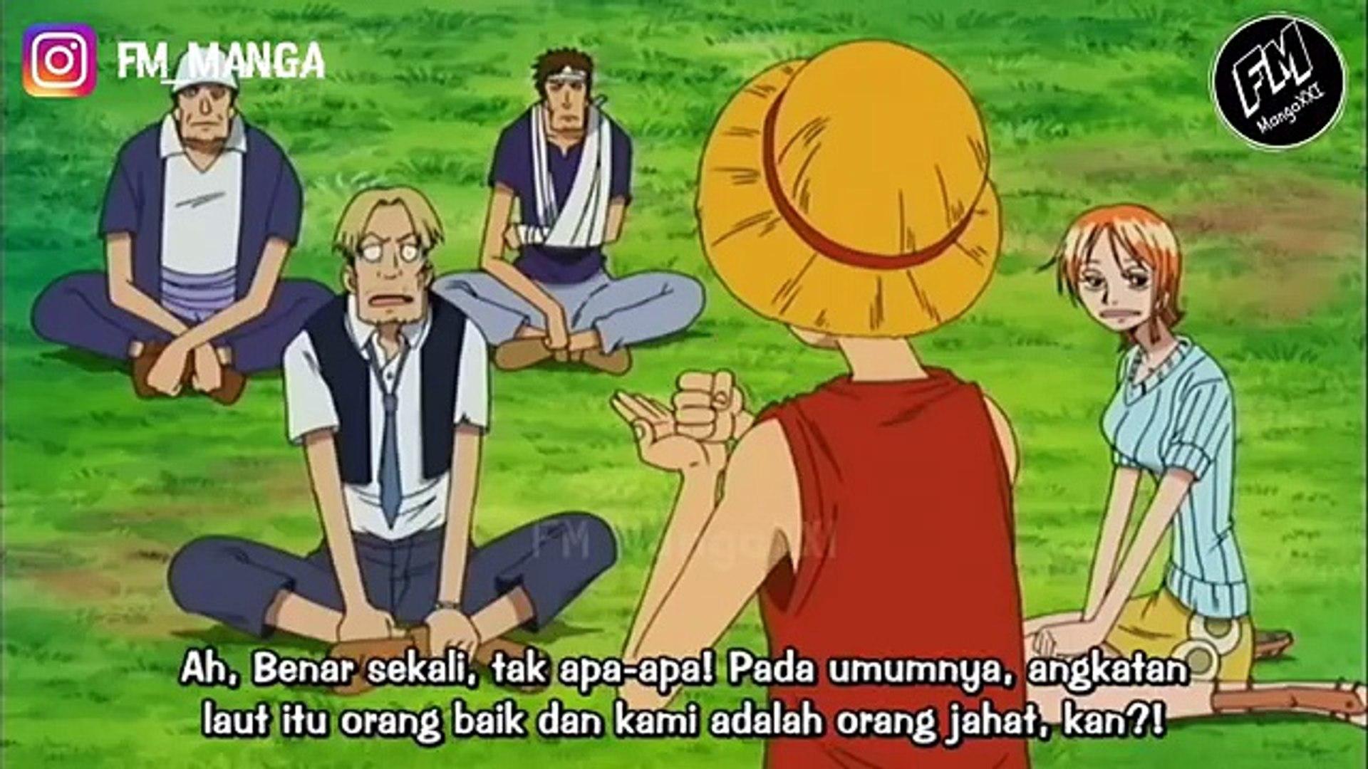 Momen Lucu One Piece Sub Indo - Funny Aokiji Moments
