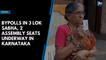 Bypolls in 3 Lok Sabha, 2 assembly seats underway in Karnataka