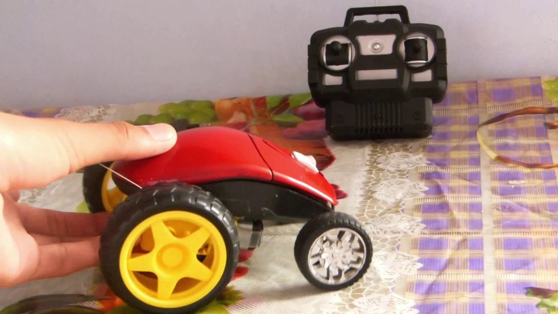 how to make small monster car with computer mouse at home by own maker1