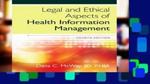 [P.D.F] Legal and Ethical Aspects of Health Information Management [E.P.U.B]