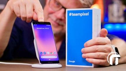 Google Pixel 3, trop modeste ? unboxing et impressions