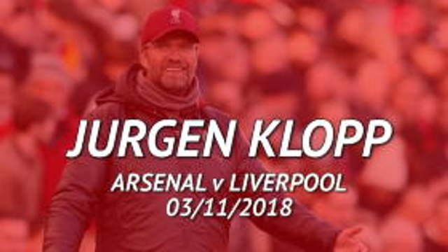 FOOTBALL: Premier League: 'Arsenal are a big challenge for us' - Klopp's best bits