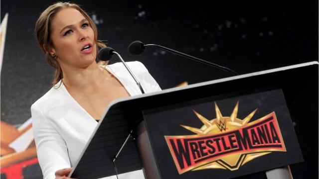Does Ronda Rousey Want To Headline 'Wrestlemania'?