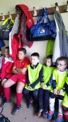 PEF (respect de l'environnement ) lors du Stage école de foot. 2 et 3 novembre 2018