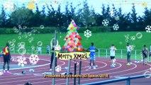 Athletics Motion Graphic Christmas Card