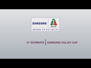 Preview 3^ giornata | Samsung Galaxy Cup 2018/19