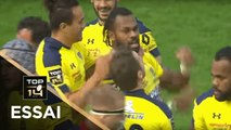 TOP 14 - Essai Alivereti RAKA (ASM) - Grenoble - Clermont - J9 - Saison 2018/2019