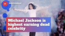 Michael Jackson Is Still Bringing In The Big Bucks