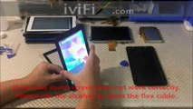 7 Inch China Tablet Replacement Touch Screen Disassembly Repair Guide