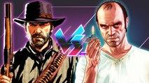 Red Dead Redemption 2 Vs. Grand Theft Auto V   Versus