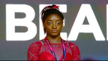 Biles wins four golds at the gymnastics championship in Qatar