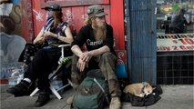 San Francisco's Homeless Called Human Rights Violation