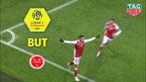 But Mathieu CAFARO (24ème) / Stade de Reims - AS Monaco - (1-0) - (REIMS-ASM) / 2018-19