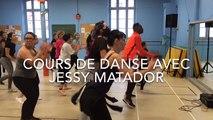 Jessy Matador donne un cours de danse à Remiremont