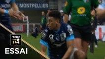 TOP 14 - Essai Yvan REILHAC (MHR) - Montpellier - Racing 92 - J9 - Saison 2018/2019