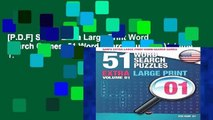 [P.D.F] Sam s Extra Large-Print Word Search Games, 51 Word Search Puzzles, Volume 1: