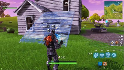 Fortnite: Battle Royale Training - Ramps in Different Materials