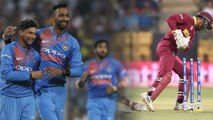 India Vs West Indies T20I,2018: India Beat West Indies, Take 1-0 Lead