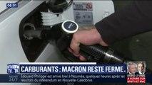 Carburants: Emmanuel Macron reste ferme