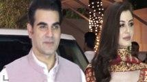 SHOCKING! Arbaaz Khan with GF Giorgia ignore Khan family members at Shilpa Shetty Diwali Party