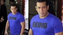 Salman Khan macho entry at SHILPA SHETTY Diwali Party! | Bollywood | News & Gossips