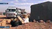 نزوح المدنيين من قرية الصرمان بـ #إدلب جراء قصف مدفعي لميليشا النظام#أورينت #سوريا