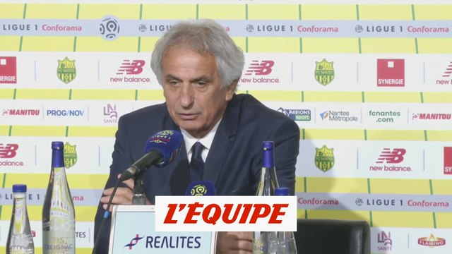 Halilhodzic espère que Sala va battre son record de buts - Foot - L1 - Nantes