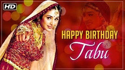 Happy Birthday Tabu | Best Scenes Of Tabu From Superhit Hindi Movie Hum Saath Saath Hain