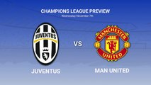 Feature: Juventus v. Manchester United Data preview to the UEFA Champions League