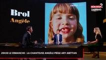 20h30 le dimanche : La chanteuse Angèle piège Ary Abittan avec une blague (Vidéo)