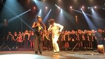 Mille choristes d'Urban voices chantent la rumba devant 6000 spectateurs