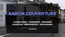 Aaron Couverture, couverture, charpente, zinguerie, isolation et ravalement à Chevreuse.
