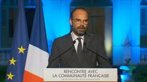Discours du Premier ministre devant la communauté Française au Viêtnam
