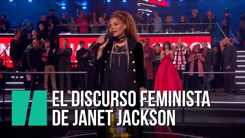 """""""Soy una de esas mujeres que han sido amordazadas"""": el discurso feminista de Janet Jackson en los MTV EMAs 2018"""