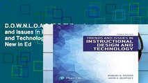 D.O.W.N.L.O.A.D [P.D.F] Trends and Issues in Instructional Design and Technology (What s New in Ed