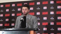 Baker Mayfield was happy to get Duke Johnson involved