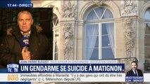 """Suicide d'un gendarme à Matignon: """"Se donner la mort sur son lieu de travail, avec son arme de service, laisse un message aux autorités"""""""