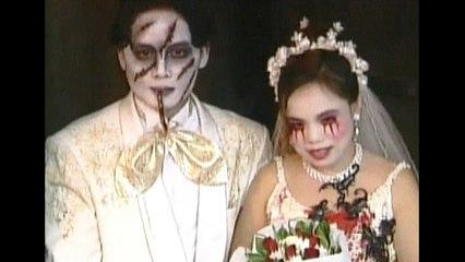 Bizarre Halloween Wedding