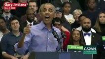 Obama Calls Trump's Response to Caravan A 'Political Stunt'