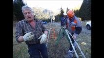Haute-Savoie :  Châtel : le télésiège de Pierre-Longue a son câble