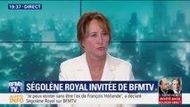 """Ségolène Royal: """"Il y a une manière plus féminine de faire de la politique"""""""