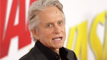 Marvel Star Michael Douglas Gets Hollywood Walk Of Fame Star