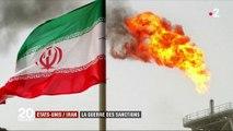 États-Unis / Iran : la guerre des sanctions