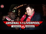 Arsenal 1-1 Liverpool | It's Time For The Pundits & Critics To Take Arsenal Seriously!