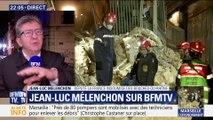 """Immeubles effondrés à Marseille: """"Les gouvernements successifs se sont désintéressés de l'habitat populaire"""", Jean-Luc Mélenchon"""