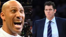 "Lavar Ball Shades Luke Walton, Claims He Can Coach Lakers ""With Eyes Closed"""
