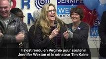 USA/élections: Obama fait campagne en Virginie