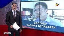 Ex-Davao Rep. Nograles, bagong Cabinet Secretary